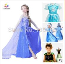 Varejo 1 pic congelado vestido sofia vestido de princesa fofo grandes pétalas princesa Sophia Free shopping(China (Mainland))