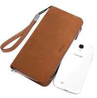 2015 vintage genuine leather men bag brand handbags leather bolsas phone bag men clutch wallets business hand bags bolsos marca