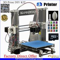 Factory Aurora Newest Reprap Prusa I3 3D Printer 3D Print DIY KIT,High Accuracy Z605 1KG Filaments free gift
