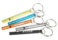 (Free Shipping)WS-001 aluminium whistle metal whistle