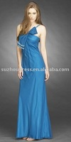 Dark blue sexy bridesmaid dress free shipping