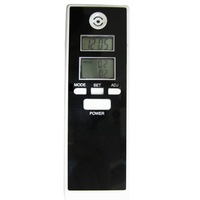New arrival ! Dual LCD display Clock Digital Breath Alcohol Tester