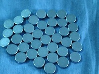 small strong ndfeb magnet   5*1.5 mm ( 10000pcs ) ni coated and zn coated for selection