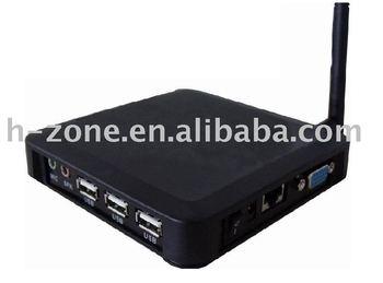 Wireless Thin Client terminal With arm11 800mhz processor, wince6.0 OS ,128M ram&128m storage,3 USB port