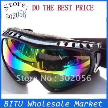 50pcs/lot Free Shipping For ski use Snow Ski goggles GL001