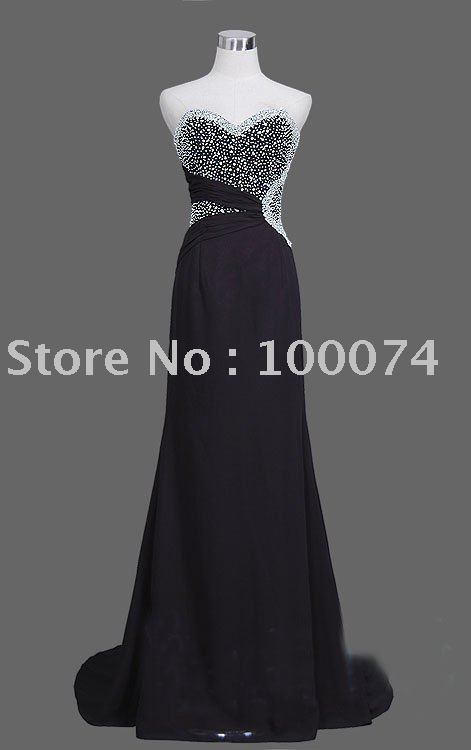 ready made evening dress in stock ed043001(China (Mainland))