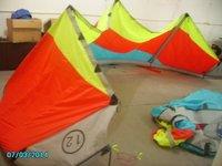 12m hybrid kitesurfing