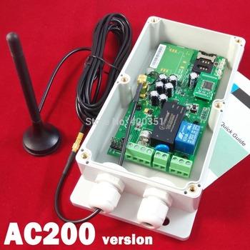 GSM Remote control for garage door opener