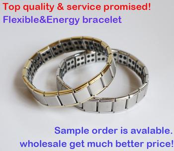 3pcs/lot&Hot sale!&Free shipping&Amazing energy!80 Germanium stone!Titanium bracelets S028B-G,energy bangles,health,top quality
