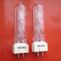 FREE SHIPPING 90V G9.5 BROADWAY MSD 250/2 MOVING LIGHT STAGE MAC bulb DJ lamp