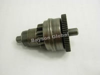 Free Shipping Starter Motor Clutch Gear Assembly Bendix  QMB/139 Scooter Mopeds ATV @60666