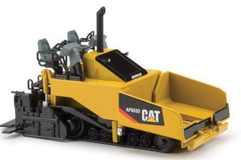 N-55227 1:50 CAT  AP655D Asphalt Paver toy