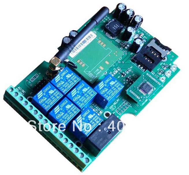 GSM remote control board(China (Mainland))