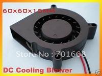3 Pcs Per Lot Free Shippingg / Brushless DC Cooling Blower Fan 6015S 12V 60x60x15mm