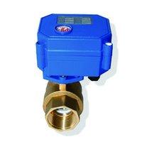 Electric water valve CWX-15Q 1/2'' brass 3-6v CR01 wring