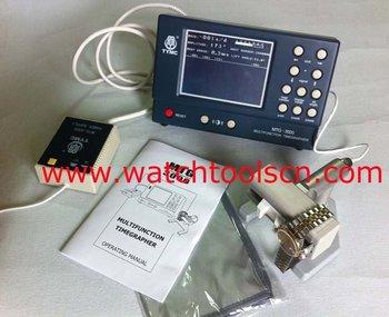 timegrapher, reloj mtg-3000 probador, nuevo, sin usar, envío gratis, un año de garantía