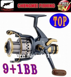 GOOD Fishing reel/carp reels/bait runner reels CMSW5000series 9+1BB PRICE CUT 10%(Hong Kong)