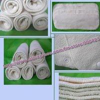 washabl hemp+cotton baby diaper insert nappy nappies Original Fabric 20pcs/lot  3layers hemp+cotton