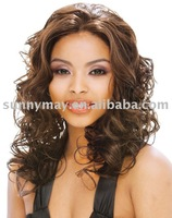 Celebrity Middle Part Synthetic Wig . .