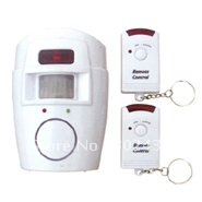 Free shipping Wireless PIR Motion alarm for home gate Security with Remote Control (LS-816)