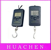 7018  Free Shipping SELLING BY 50pcs/lot NEW Digital Handy Scales Luggage Fishing 40kg 88Lb 1410oz