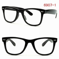 Free Shipping Eyeglasses Frames Fashion Clear Lens Sunglasses with CE Certificate 6907-1