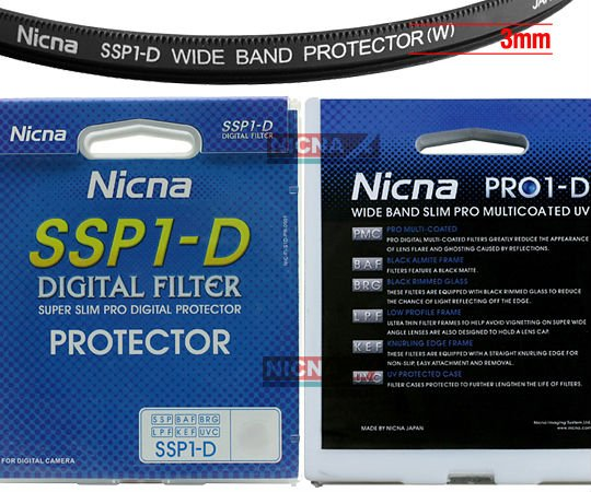 Free shipping!Wholesale Nicna 77mm SSP1-D pro1d Wide Slim Protector Filter for 77 mm Lens(Hong Kong)