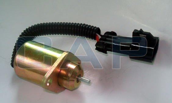 STOP SOLENOID SWITCH/ VALVE FOR KUBOTA ENGINE Carrier Transicold Supra - Genesis R90 25-15230-01(China (Mainland))