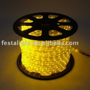 free shipping New style christmas LED rope lights( in flat \round \string )(China (Mainland))