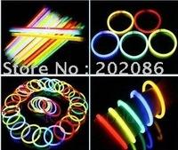Wholesale Cheap Light Stick Glow Bracelet Party celebration glow in the dark Stick fluorescence stick Bracelet Toy 900pcs/lot