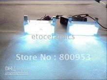 Ems DHL gratuite + 12 jogos/lotes blanc 2 x 22 LED Strobe lumières panneau 3 clignotant motif(China (Mainland))