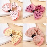 E6336 star hair accessory dot fabric bow rubber band headband hair rope accessories hair accessory