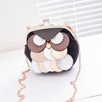 2014 mini chain bag small bag owl messenger bag female bags
