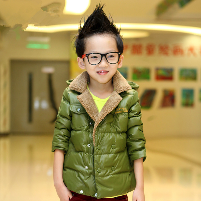 baby boy children winter jacket down coat outwear(China (Mainland))