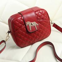 2014 fashion vintage plaid bag mini bag trend women's messenger bag handbag