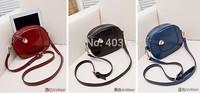 Fashion 2014 women's handbag casual small bag day clutch women tote bags messenger bag femme shoulder bag black red WD5 hot sell