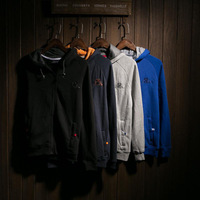 Male sweatshirt spring and autumn outerwear male autumn male jacket men's clothing