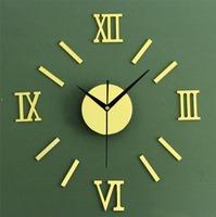 Classic DIY Wall Clock modern design home decoration vintage  watch wall digital clock on wall home decor clock mechanism