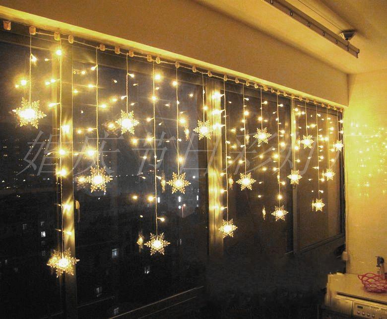 Lighting window decoration night light christmas decoration 3 5 meters holiday lights led lights Indoor decoration ideas