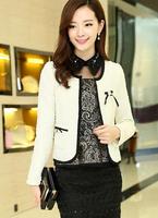 Fast/Free Shipping New 2014 Autumn Ladies Elegant All-match Short Jackets Women Coat Jacket Casual Fashion Overcoat B8986