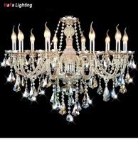 Top Modern Crystal Chandelier  light living room lights luxury crystal lighting Chandeliers Crystal Cognac Modern crystal lamp