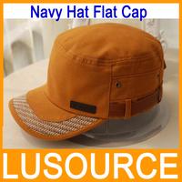 New Arrival Autumn Winter Navy Hat Flat Cap Male Women's Female's Navy Cap Hat Casual Hats Cotton Cloth Cap Street Hats