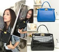 New Arrival Fashion Ladies Branded Handbags High Quality Crocodile Embossed Mini Bag 100% Genuine Leather Shouder Bags for Women