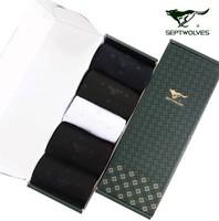 For SEPTWOLVES men's socks quality modal socks breathable perspicuousness commercial short socks