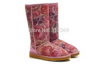 2014 New Winter Snow Boots Platform Boots Flat High Heel Winter Shoes Woman Snow Boots Women's Shoes Boots Sapatos Femininos