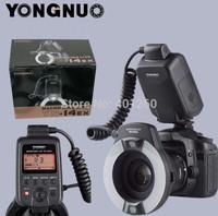 YONGNUO YN-14EX YN14EX TTL Macro Ring Flash Light for Canon SLR Digital Camera+4 Adapter Ring 52mm 58mm 67mm 72mm lens