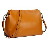 New 2015 Simple Style Genuine Leather Women Messenger Bags Fashion shoulder cross-body bag women's genuine leather handbag
