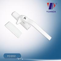 PVC Single Point Window Handle(Zinc base and Aluminium handle,Zinc alloy,Aluminium alloy)