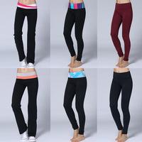 Women Pants free Shipping 2014 New Arrival Yoga Groove Pants for Women/girls Cheap Yoga leggings Model Size Long pants xxs-xl