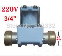 Electromagnetic valve/Solenoid valve AC 220V, pressurized valve, 3/4''